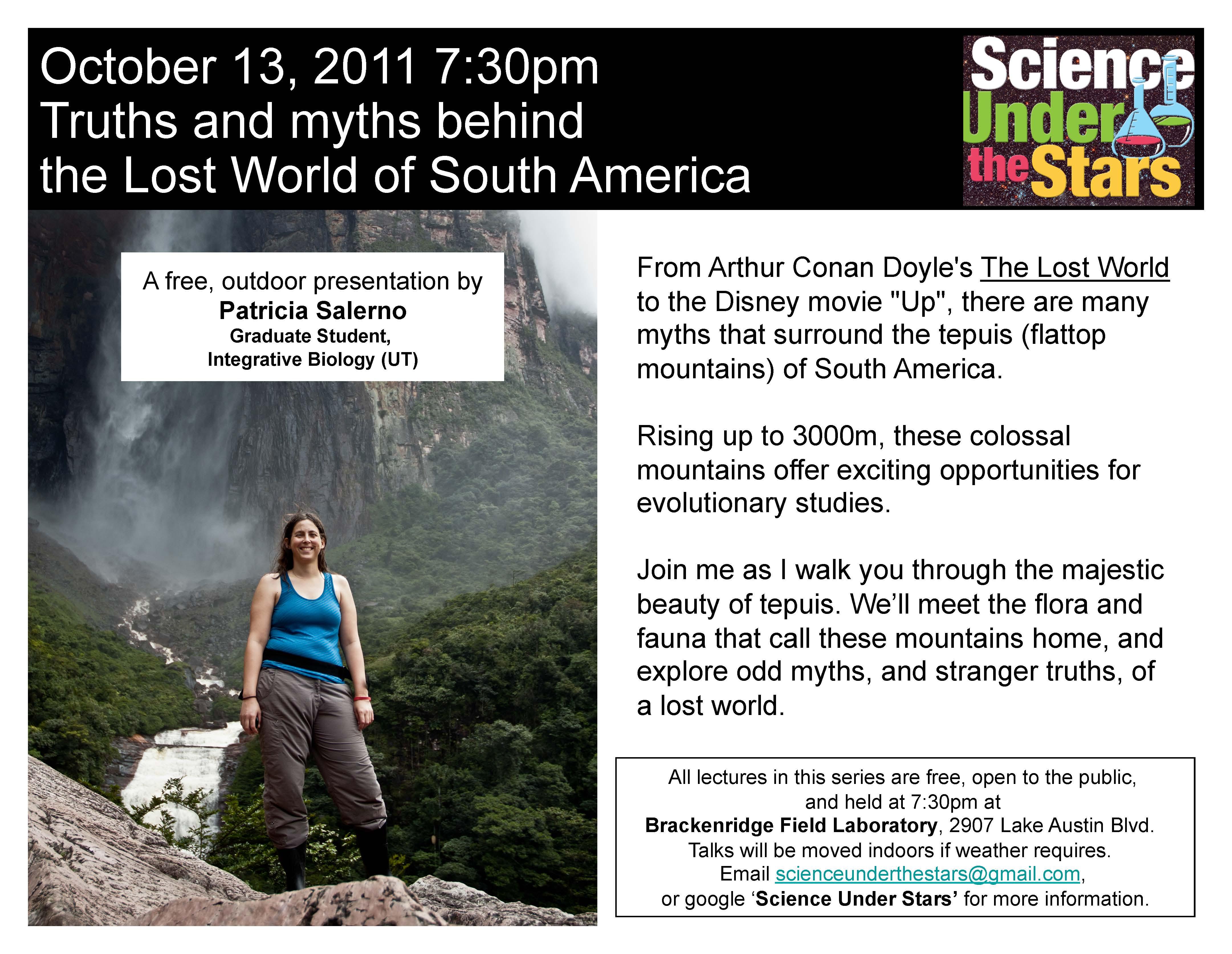 Patricia Salerno   Science Under The Stars