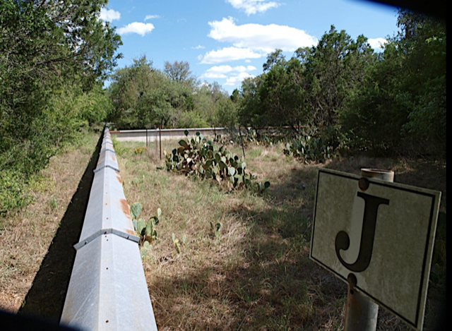 Acre plots divided for monitoring at Brackenridge Field Lab